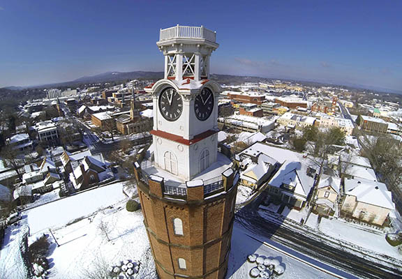 Clocktower Aerial